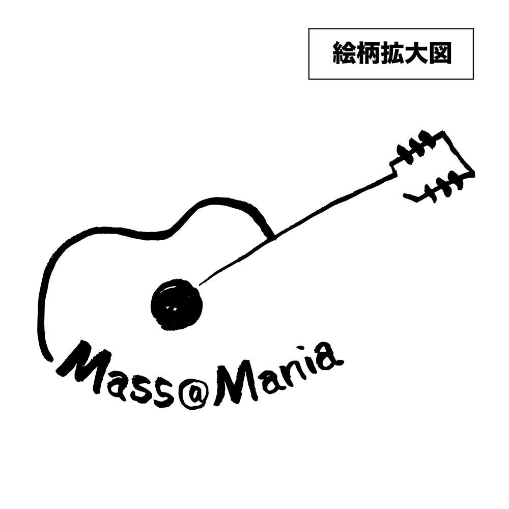 49.69 ロックグラス&コースターセット /まさし画伯:ギター柄