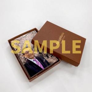 さだまさし フォトポストカード&特製カレンダー待受画像セット / オリジナルケース付